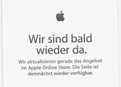 Apple Store vom Netz: MacBook Air & Pro auf WWDC 2013?