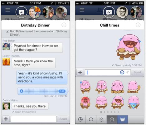 Facebook 6.2: iOS-App erhält Update