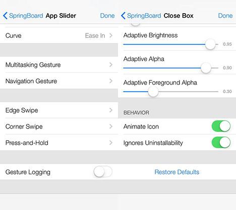 iOS 7: Multi-Touch-Gesten und mehr in erweitertem Menü gesichtet