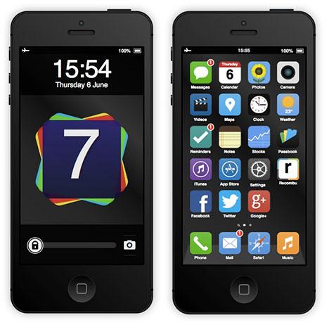 iPhone 5S & iOS 7: Interaktives HTML5-Mockup
