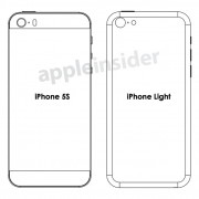 iPhone 5S & Billig-iPhone: Skizzen und Mockups aufget