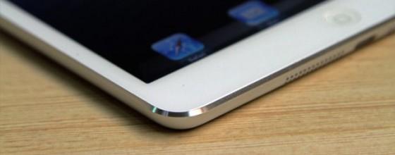 Abgeschrägte Ecken und ein schmalerer Rahmen dürften die Eckpunkte des iPad 5-Designs sein