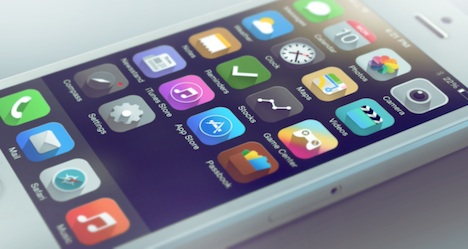 iOS 7 Konzept: Licht oder doch Schatten?