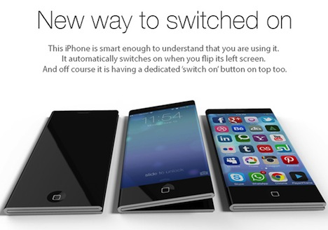 iPhone 6: Faltbares Display als Innovation