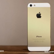iPhone 5S Farben: Champagne statt Gold