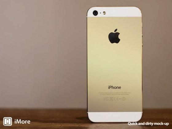 iPhone 5S Farben: Champagne statt Gold