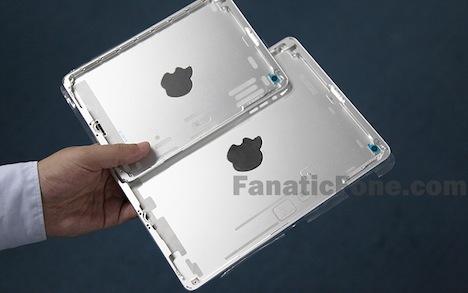 iPad mini 2: Abgeänderters Apple-Logo auf Rückseite
