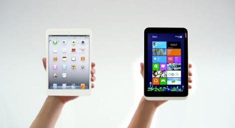 iPad mini vs. Acer Iconia: Microsoft attackiert im Werbespot