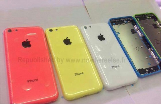 iPhone 5C Farben
