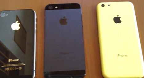 iPhone 5C: Video zeigt gelbes Gehäuse