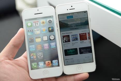 Mockup zu iPhone 5S & iPhone 5C aufgetaucht
