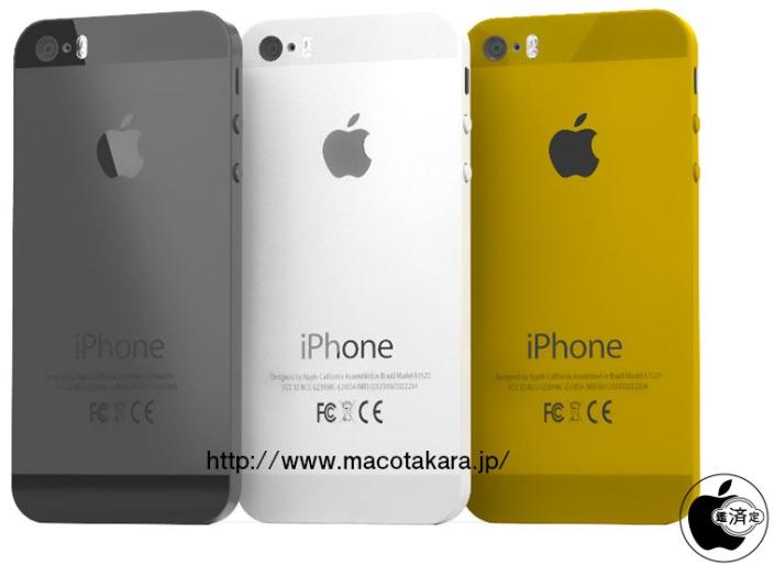 iPhone 5S soll Gold-Option erhalten