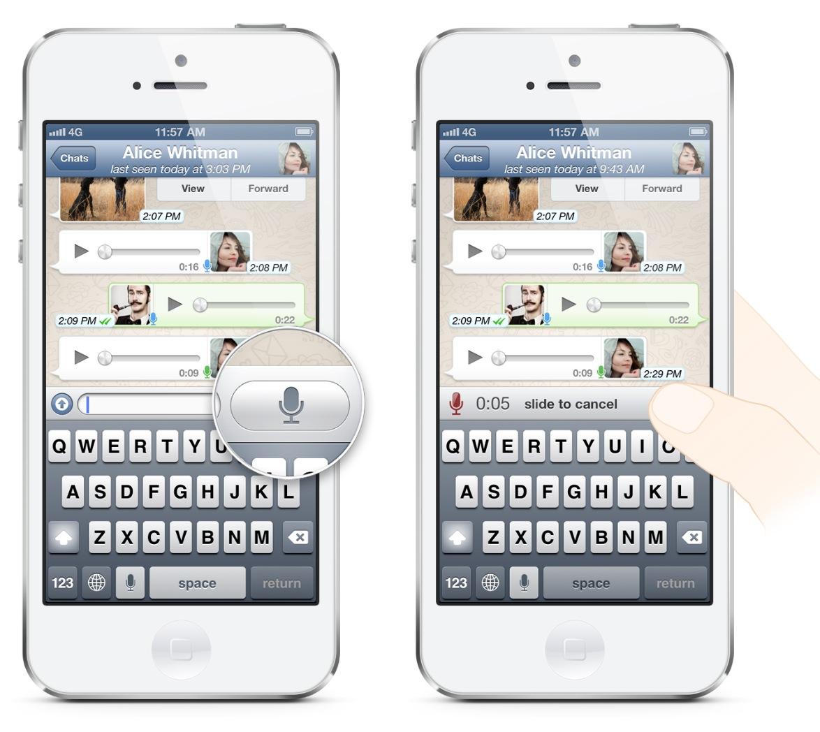 WhatsApp Neue Funktion ermöglicht senden von push to talk ...