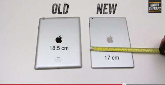 iPad 4 vs. iPad 5