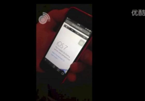 iPhone 5C: Rotes Device im Video gesichtet