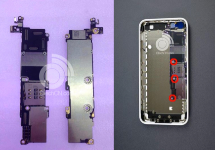 iPhone 5C: Logic Board aufgetaucht