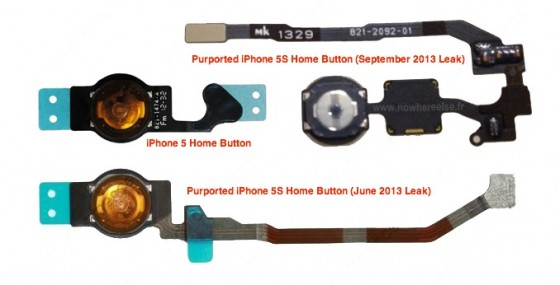 iPhone 5S: Homebutton-Kabel deutet auf Fingerabdrucksensor