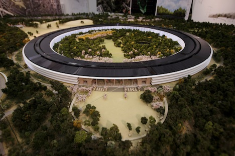 Apple Campus 2: 3D-Modell zeigt finale Version