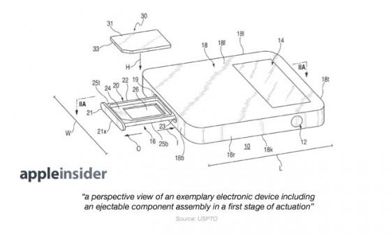 Apple-Patent: Magnetischer SIM-Slot aufgetaucht