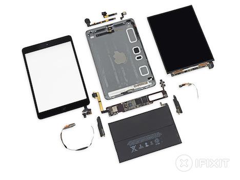 iPad mini Retina: iFixit-Teardown bringt 2 von 10 Punkten
