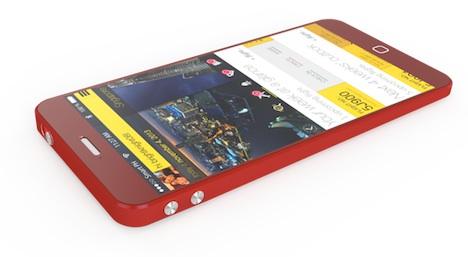 iPhone Air: Rotes Device auf Bild und in Video