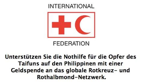 iTunes-Spendenseite: Geld für Opfer auf Philippinen