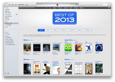 Das Beste aus iTunes 2013 wurde veröffentlicht