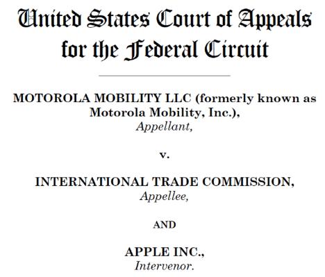 Apple vs. Motorola: Apple verstößt nicht gegen Push-Patent