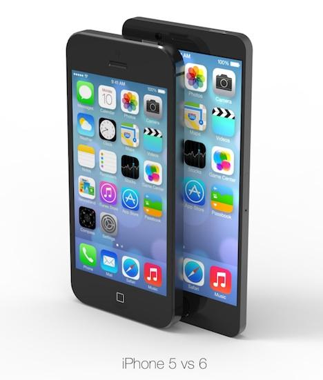 iPhone 6 soll mit 4.7 und 5.7 Zoll erscheinen