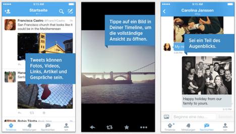 Twitter 6.1 für iOS: Update bringt Foto-Verbesserungen