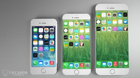 iPhone 6 Konzept zeigt erneut größeres Display