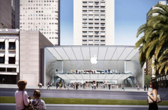 Apple Retail Store in San Francisco genehmigt