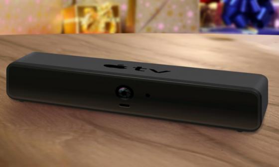 AppleTV mit Kamera Concept by Brightcove