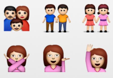 Das letzte Update erhielten die Emoji-Symbole in iOS 6
