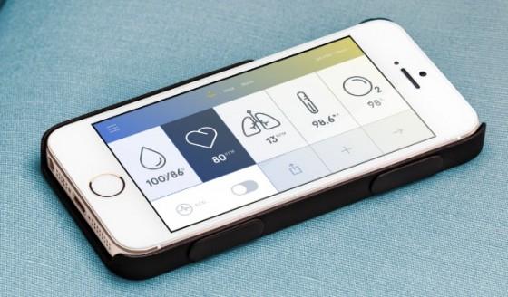iPhone-Case: Herzschlag, Blutdruck, Temperatur, Sauerstoffsättigung und Lungenfunktion werden gemessen