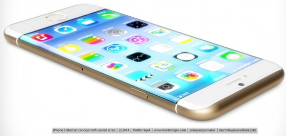Apple iPhone 6 Curved Display