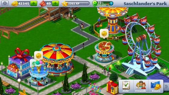 Roller Coaster Tycoon 4 Mobile für iOS veröffentlicht