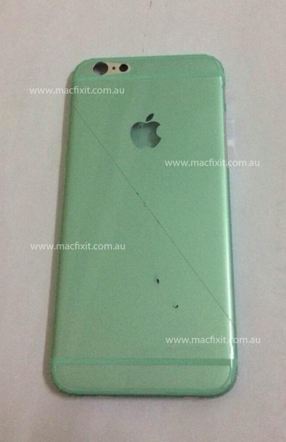 iPhone 6: Vermeintliche Rückseite auf Foto geleakt