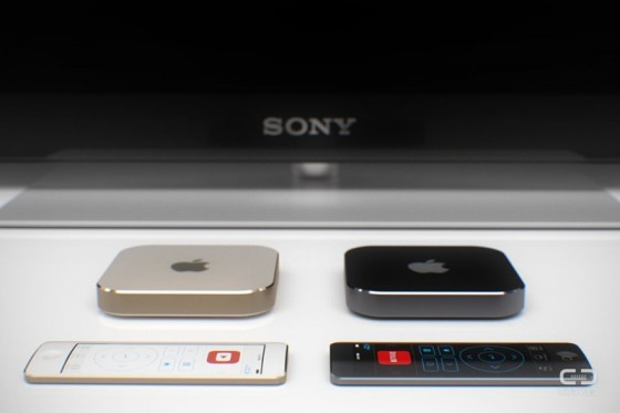 AppleTV Concept by Curved