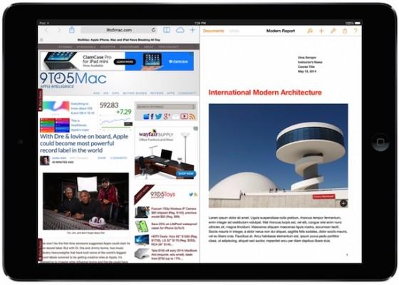 iOS 8: Splitscreen-Multitasking für iPad in Arbeit