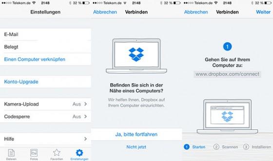 Dropbox 3.2: Update bringt Neuerungen