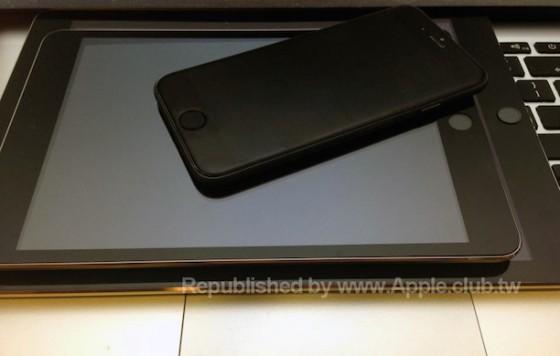 iPad mini 3 mit Touch ID auf Foto zu sehen
