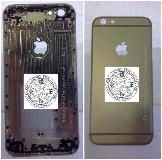 iPhone 6: Gehäuse aus mehreren Winkeln abgelichtet