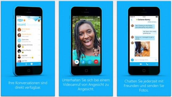 Skype 5.1 für iOS: Kleine Verbesserungen mit dabei