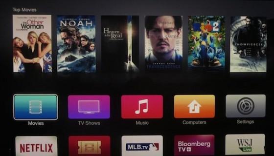 AppleTV: Optische Veränderungen der Oberfläche im Video