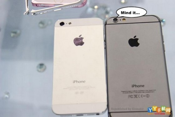 iPhone 6 vs. iPhone 5: Design-Unterschiede im Foto-Vergleich