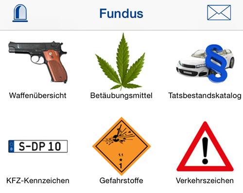 Neue Polizei-App mit Bußgeldkatalog und mehr veröffentlicht