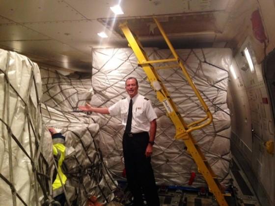iPhone 6: So sehen 200.000 iPhones in einer Boeing 747 aus