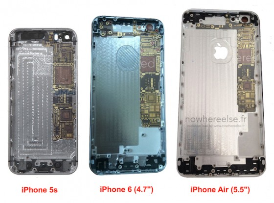 iPhone 6: 5.5 Zoll große Rückseite im Detail