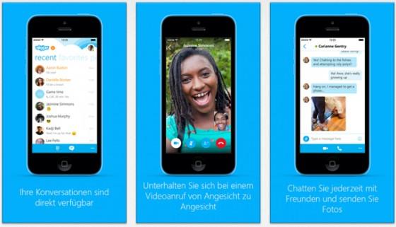 Skype 5.5 für iPhone: iOS-8-Kompatibilität und interaktive Benachrichtigungen